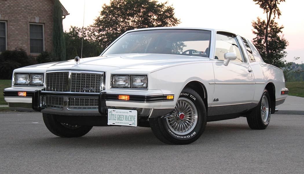the pontiac grand prix 2 2 is one of the best 80s american muscle cars