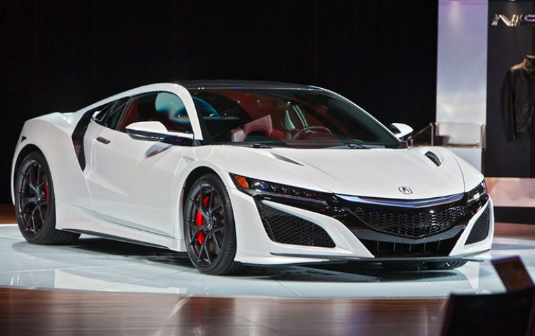 First 2017 Acura NSX Delivered to Buyer