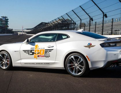 Driving the Indy Pace Car