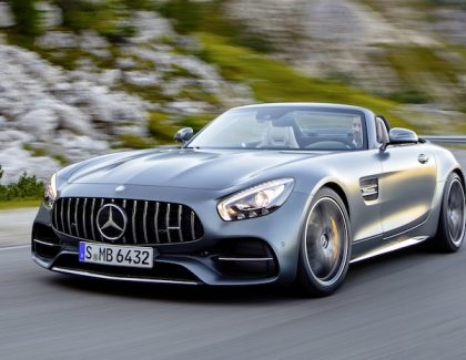 AMG GT C Roadster: No Gullwings Needed To Fly This!