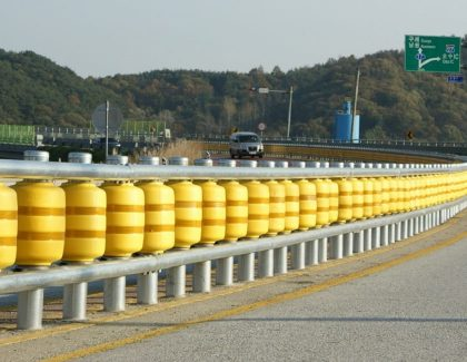 New Roller Barrier Could Improve Vehicular Safety