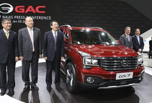 For First Time, China-based GAC Makes Detroit Debut