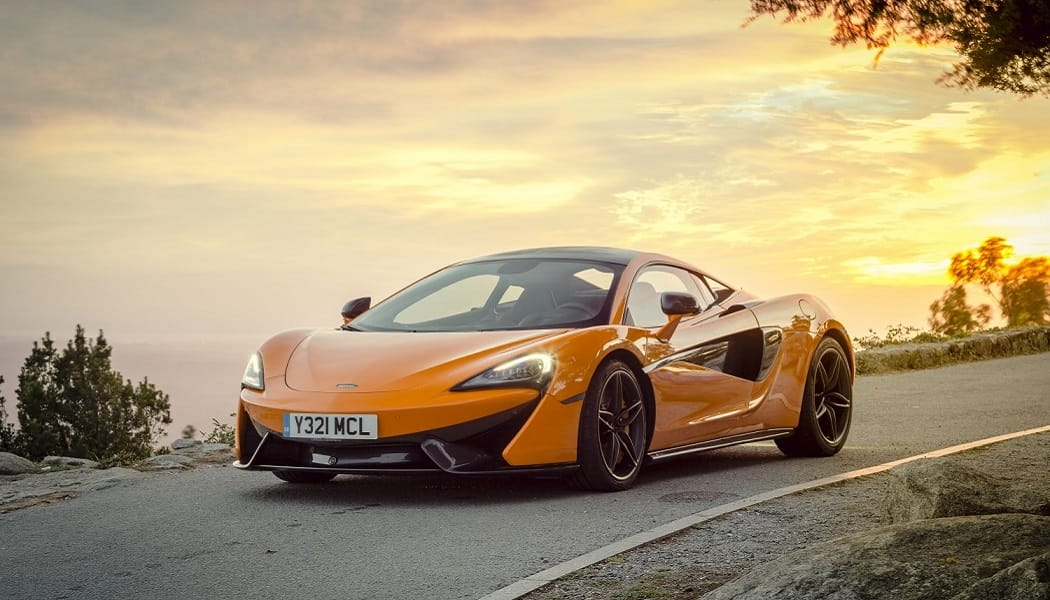 A McLaren with Takata airbag
