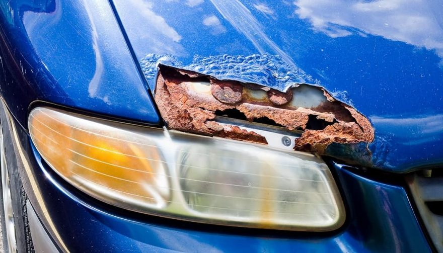 How To Fix Rust Spots On Car Paint