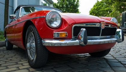 The 1970 MG MGB is one the best classic cars