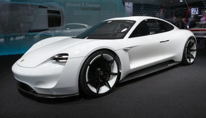 Electric cars like this porsche are important vehicles