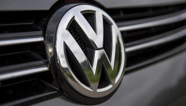 Volkswagen logo during dieselgate