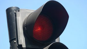 A red light is big car damage culprit