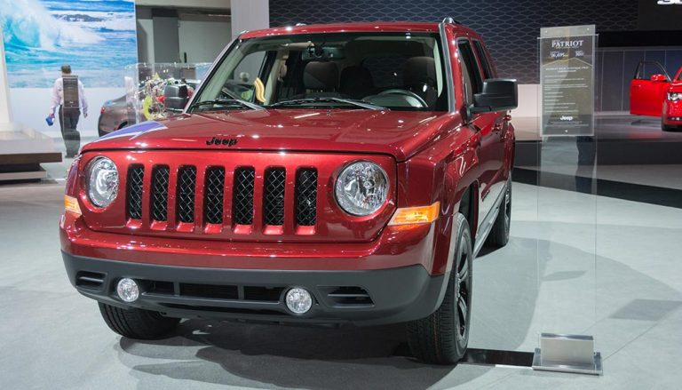 Jeep Patriot is one of more affordable SUVs on the road.