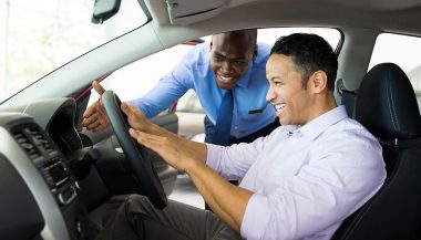 A customer experiences the best time to buy a car on Labor Day