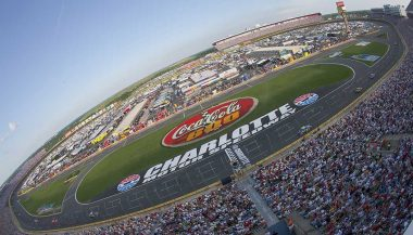 Charlotte Motor Speedway is one of best tracks to see a Nascar race