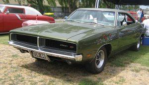 Vintage muscle cars