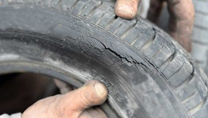 how to prevent dry rot on tires