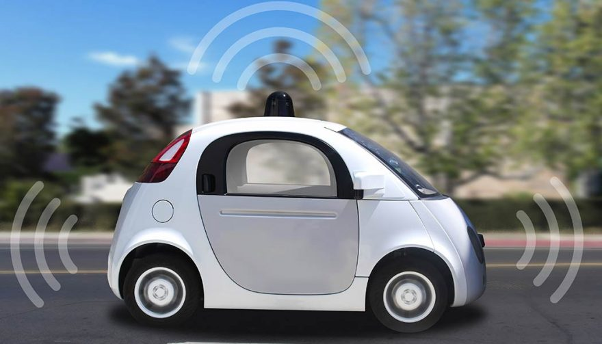Autonomous Cars like this one will be hitting the streets