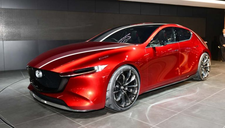 The Mazda Kai made its debut at the Tokyo Motor Show