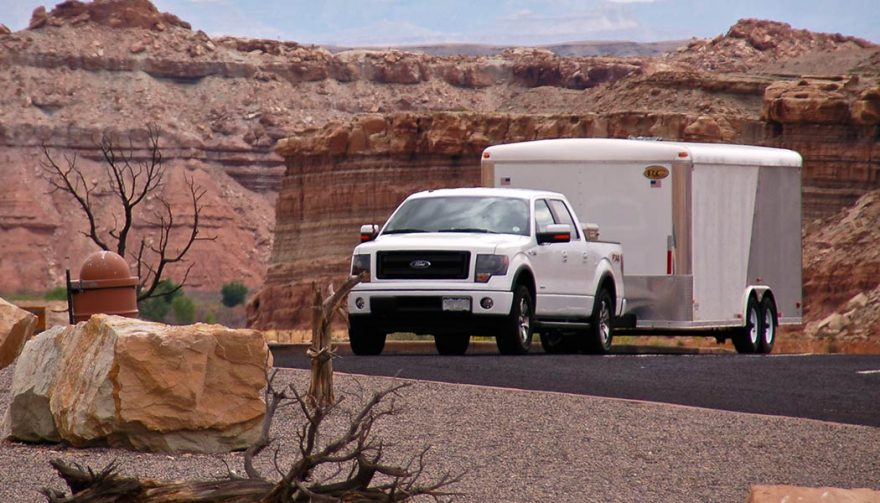 Hauling and towing are benefits of having a pickup truck