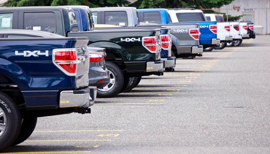 Incentives: benefits of having a pickup truck
