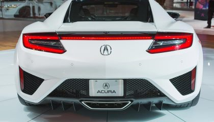 The 2017 Acura NSX