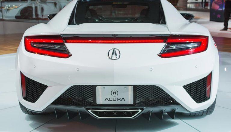 The 2017 Acura NSX