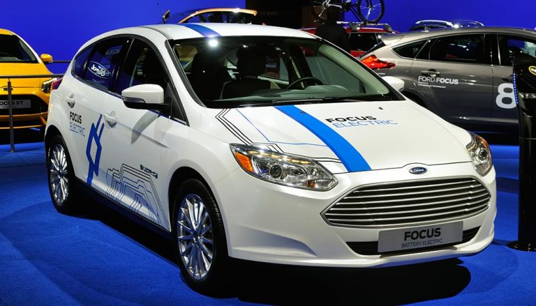 A Ford hybrid vehicle