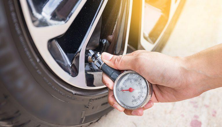 checking tire pressure monitor