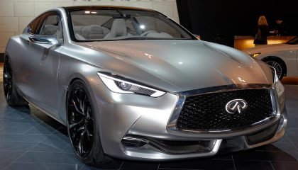 The Detriot Auto Show featured luxurcoupes like this Infiniti
