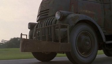This '41 Chevy COE shows how scary cars in horror films can be
