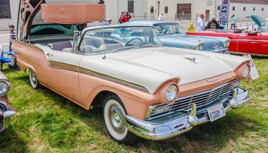 Classic cars like the Ford Fairlane were innovators of their time