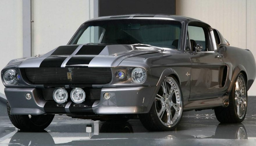 Mustang movies featured iconic vehicles, like this one from Gone in 60 Seconds