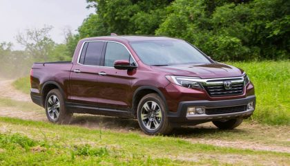 New trucks like the Honda Ridgeline will be hitting the road soon