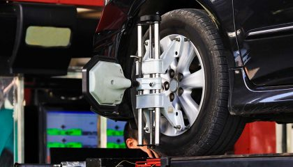 An alignment is a good way to get your car ready for spring