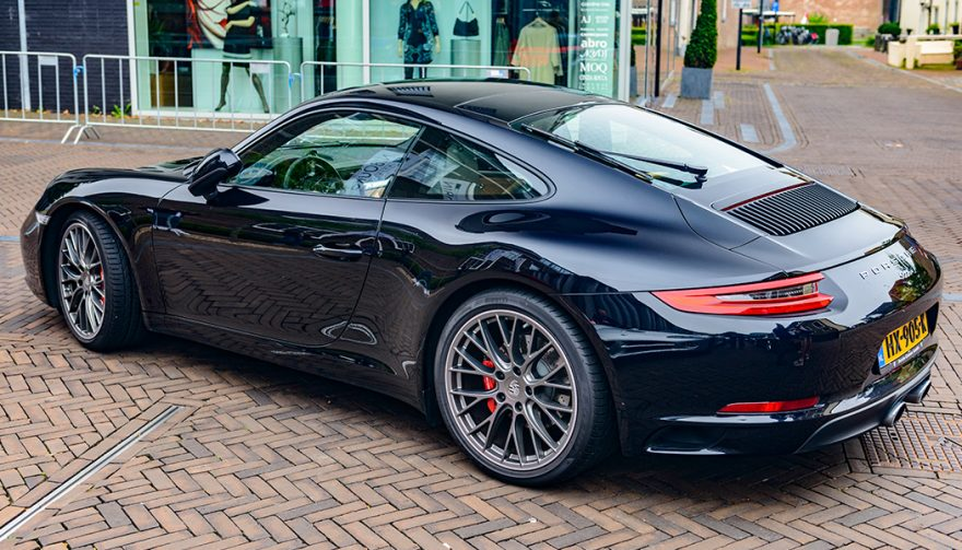 The Porsche 911 Carrera 4 is one of the fastest cars under 100K