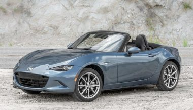 Mazda MX 5 with new hardtop