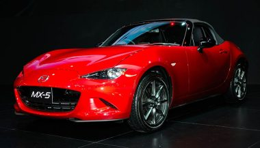 The Mazda MX5 Miata is a great convertible