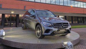 A Mercedes-AMG GLC43 on display