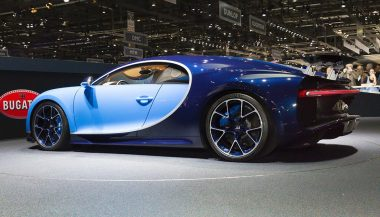The new Bugatti Chiron