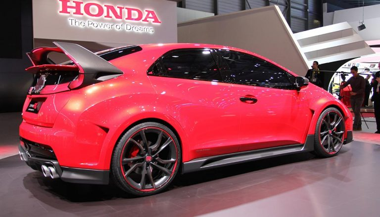 A new Honda Civic Hatchback