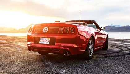 A Ford Mustang is a cheap modern car