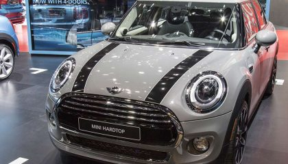 The Mini Cooper is one of the most popular microcars