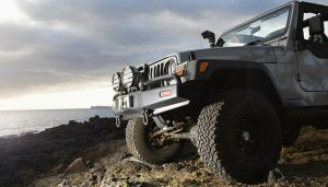 A winch shows is important for a good off-road experience