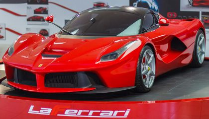 A 2014 LaFerrari is one of the most expensive used cars