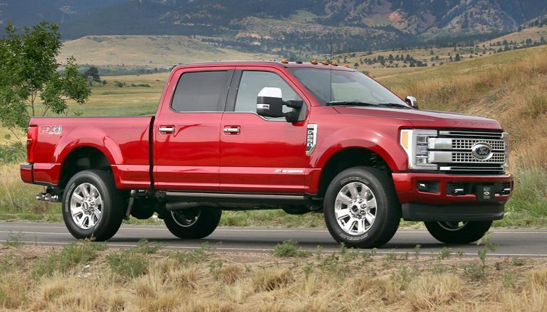 A 2017 Ford Super Duty