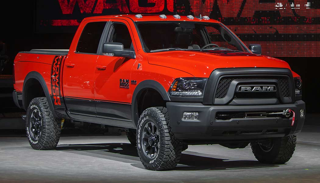 2017 ram power wagon the talk of truck town is here. Black Bedroom Furniture Sets. Home Design Ideas