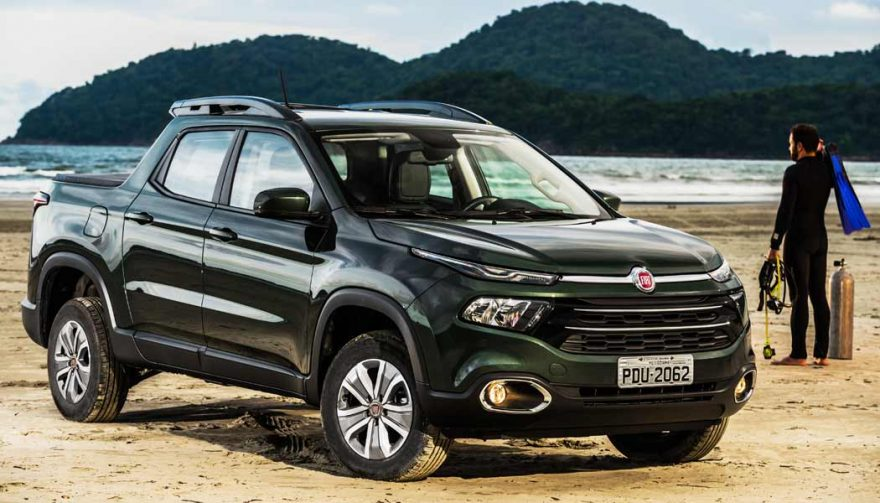 The Fiat Toro is one of the new pickup trucks coming in 2017