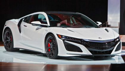 The first 2017 Acura NSX