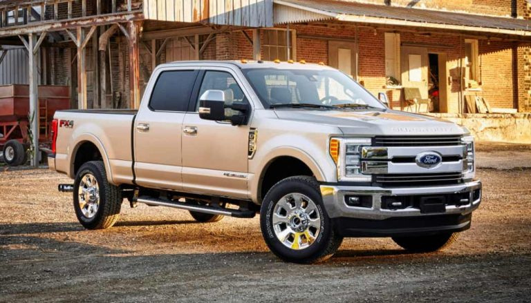 The Ford Super Duty is one of the new pickup trucks coming in 2017