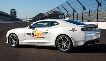 The Indy pace car