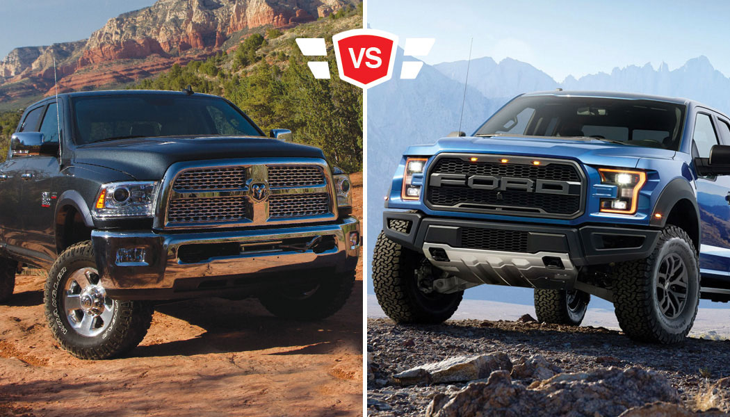 Ford Velociraptor 6x6 >> Ford F-150 Raptor: Head to Head with the Ram Power Wagon