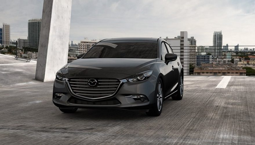 The 2017 Mazda3 Sedan