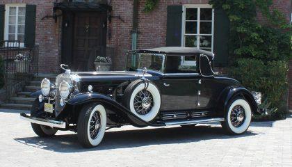 A 39 Cadillac V16 degines rare American made car